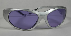Silver 2020 Extreme frame glasses
