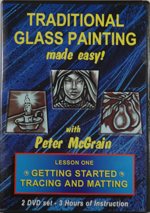 Traditional Glass Painting - Lesson One