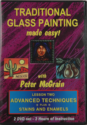 Traditional Glass Painting - Lesson Two