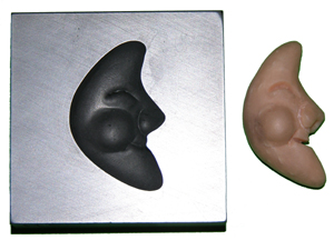 Man in the Moon Push Mold