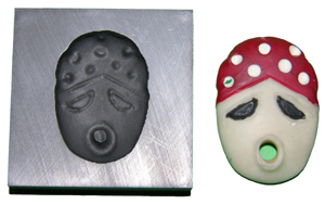 Red Mask Push Mold