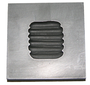 Button Grid Push Mold