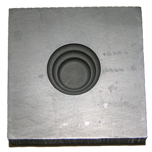 Stacked Round Push Mold