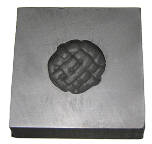 Closed Weave Button Push Mold
